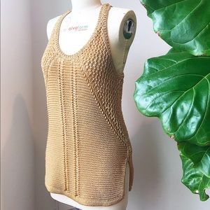 Woven Knit Top H&M Conscious Collection